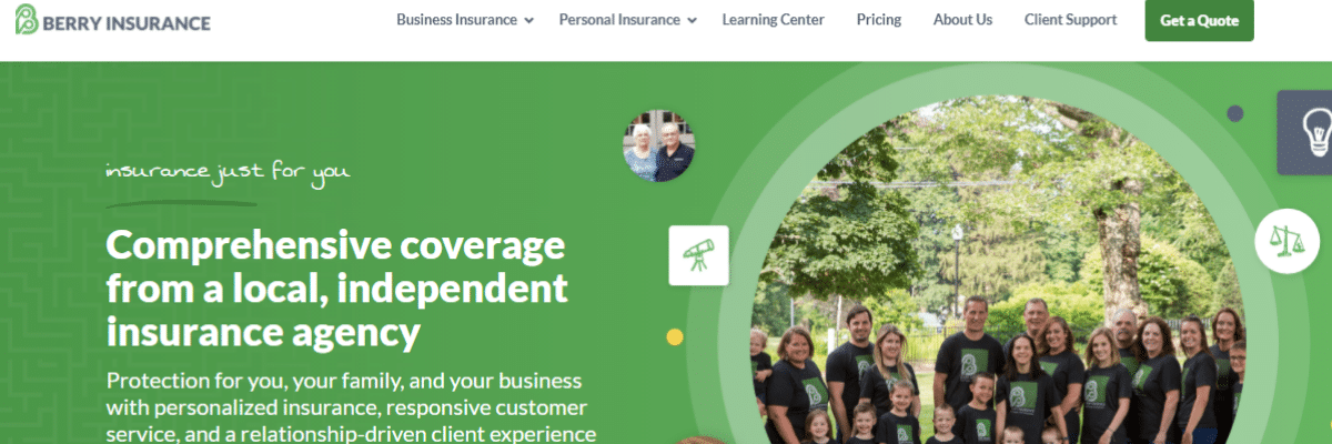 Berry Insurance Launches New Website